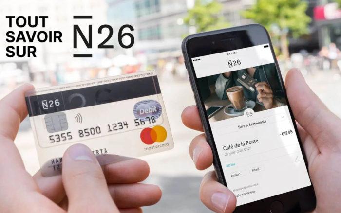 Banque en Ligne N26 : tout savoir sur N26