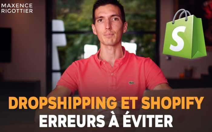 Boutique SHOPIFY en DROPSHIPPING - 6 ERREURS à ÉVITER