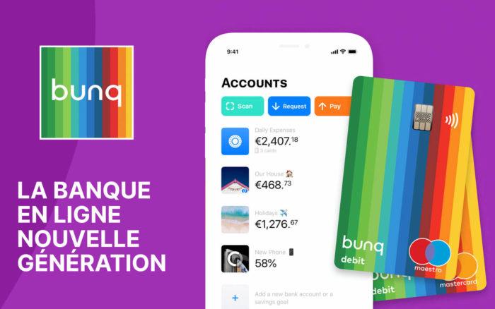 Bunq, la banque en ligne Nouvelle Génération : 7 Avantages