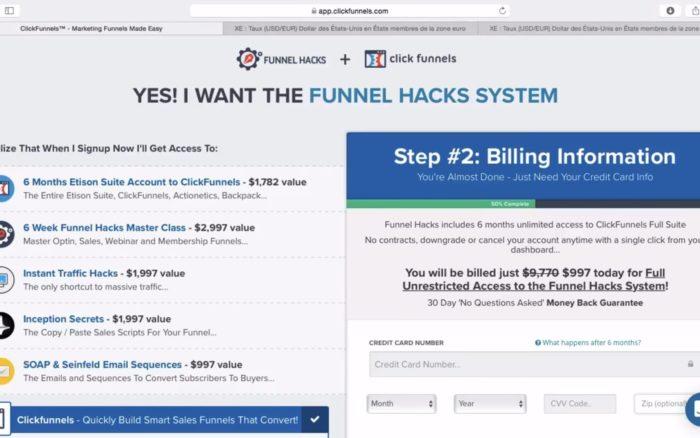 Bon plan ClickFunnels : économiser 56 % sur son abonnement
