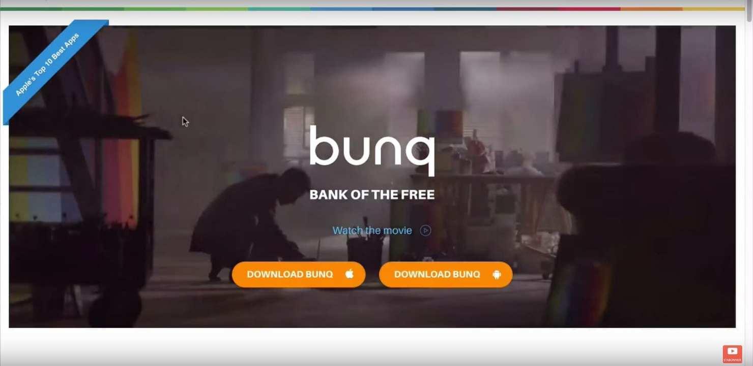 Comment avoir un compte bancaire en 5 MINUTES ? Banque Bunq