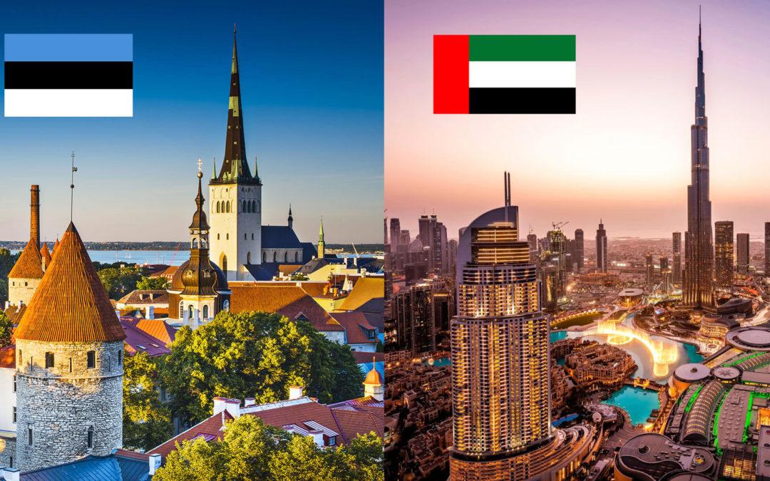 Estonie VS Dubaï: le comparatif fiscal