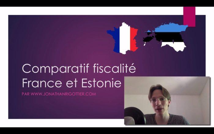 FISCALITÉ d'une SOCIÉTÉ : Comment PASSER de 43,95 % d'IMPÔTS à 8,64 % ? FRANCE vs ESTONIE