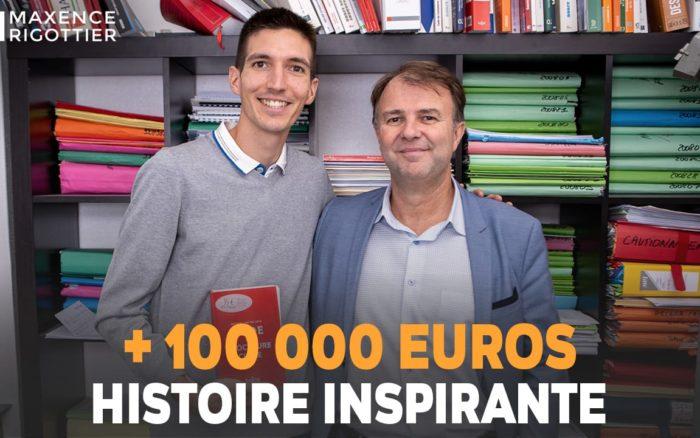 + 100 000 EUROS - Avocat/Investisseur Immobilier - Dimitri Bougeard