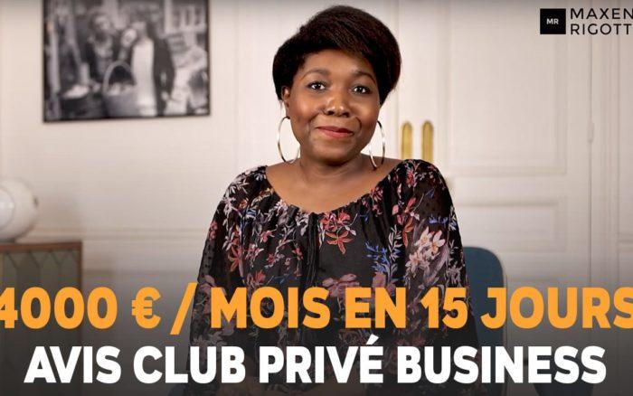 4000 EUROS/MOIS en 15 JOURS au lieu de 30 ! Dialine FEUILLET - Avis Club Privé Business