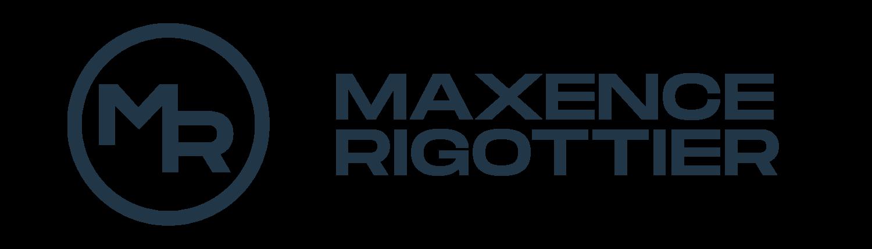 Logo Maxence Rigottier 2021