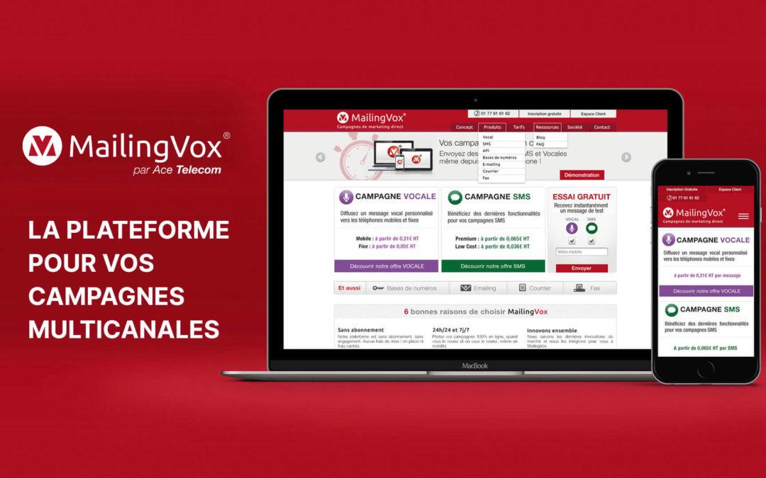 MailingVox, la plateforme pour envoyer vos SMS et messages vocaux