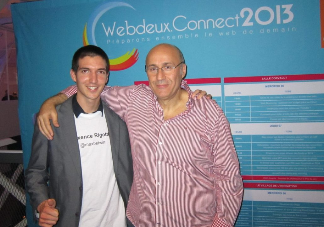 A propos : mon 1er séminaire, le Webdeuxconnect en 2013 avec Olivier Seban