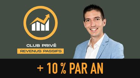 Image Menu Club Privé Revenus Passifs