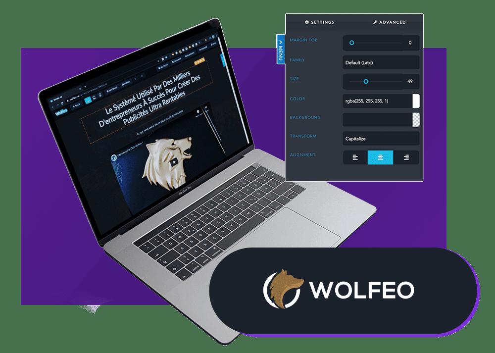 Les outils de Maxence Rigottier : Wolfeo
