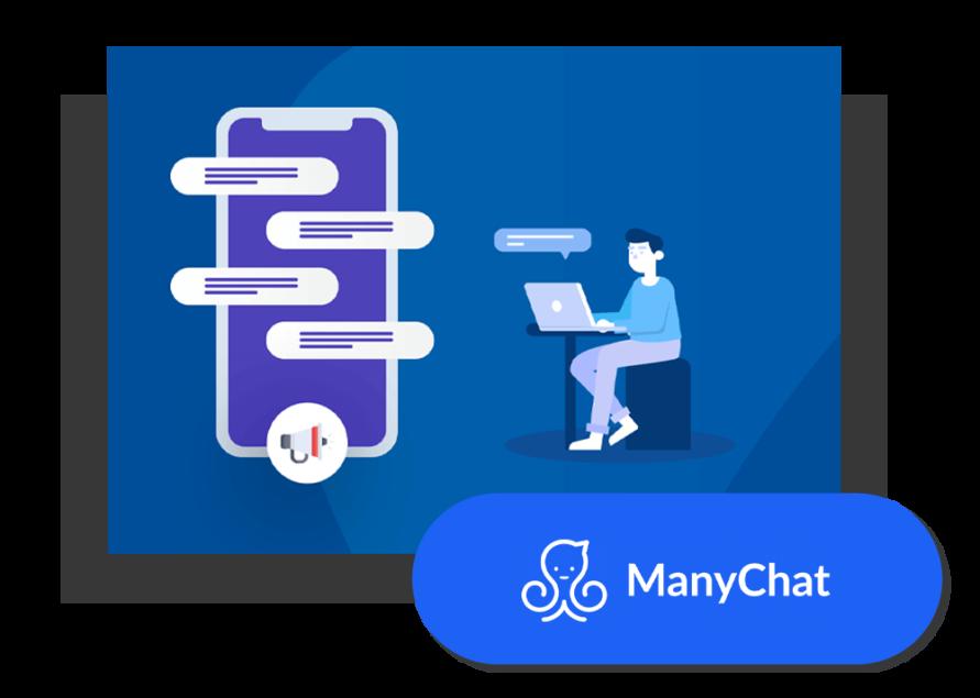 Les outils de Maxence Rigottier : ManyChat