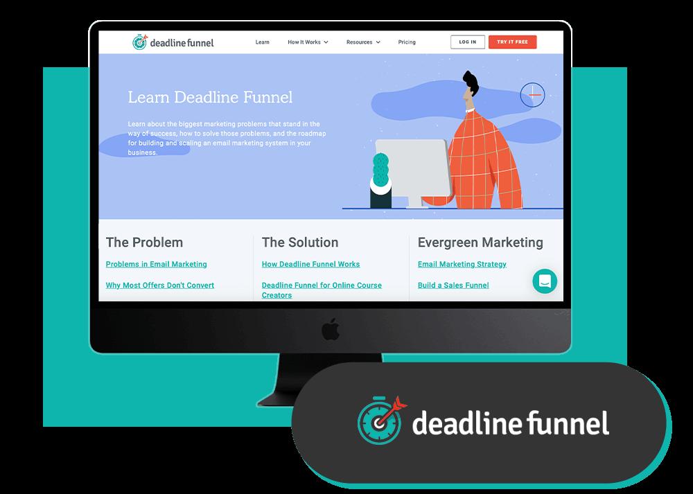 Les outils de Maxence Rigottier : Deadline Funnel