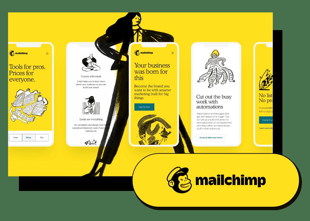 Les outils de Maxence Rigottier : Mailchimp