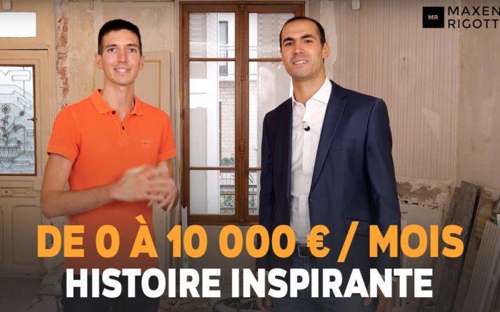 De 0 à 10 000 EUROS/MOIS ! Damien LAHMI - L' INVESTISSEUR IMMOBILIER sur INTERNET