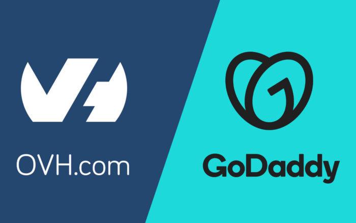 OVH VS GoDaddy : quel hébergeur web choisir ?