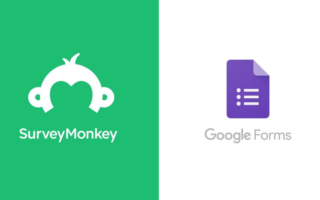 Survey Monkey versus Google Forms : quel outil choisir pour vos sondages ?