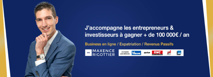 Chaine YouTube Business de Maxence Rigottier