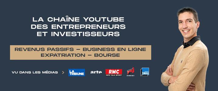 Chaine YouTube Business de Maxence Rigottier