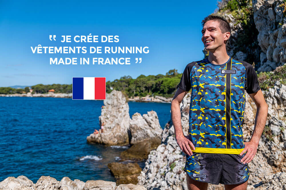 Ma boutique running made in France Maxence Rigottier